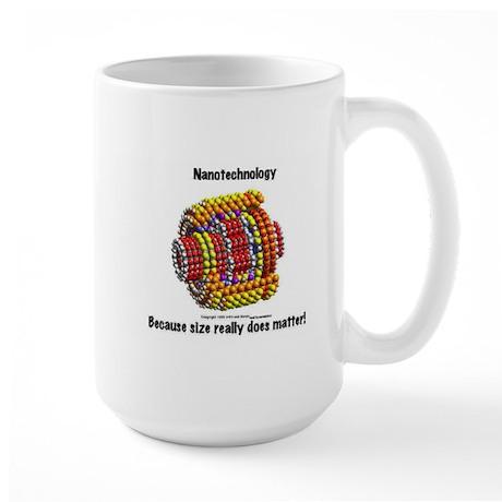 Nanotech - size matters Large Mug