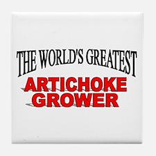 """The World's Greatest Artichoke Grower"" Tile Coast"