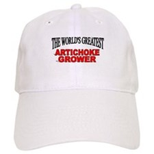 """The World's Greatest Artichoke Grower"" Baseball Cap"