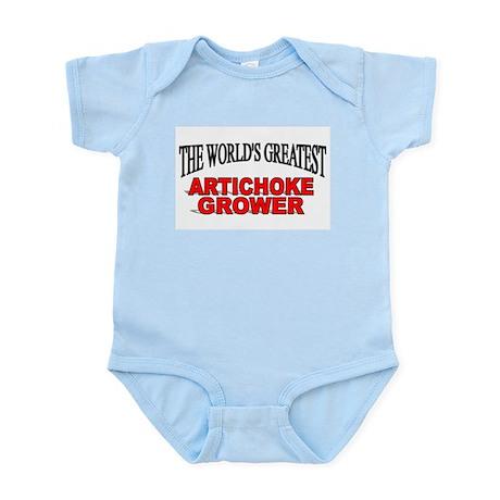 """""""The World's Greatest Artichoke Grower"""" Infant Bod"""
