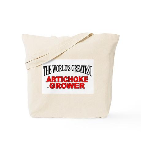 """The World's Greatest Artichoke Grower"" Tote Bag"