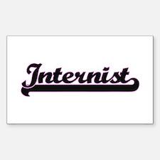 Internist Classic Job Design Decal