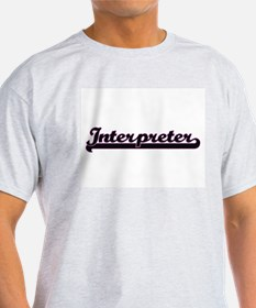 Interpreter Classic Job Design T-Shirt