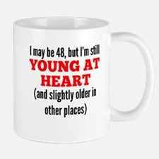48 Years Old Young At Heart Mugs