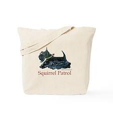 Scottie Squirrel Patrol Tote Bag