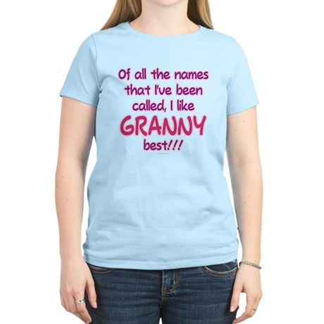 I LIKE BEING CALLED GRANNY! Women's Light T-Shirt
