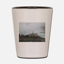 Snowflake Mormon Temple Shot Glass