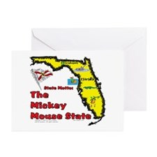 FL-Mickey! Greeting Cards (Pk of 10)