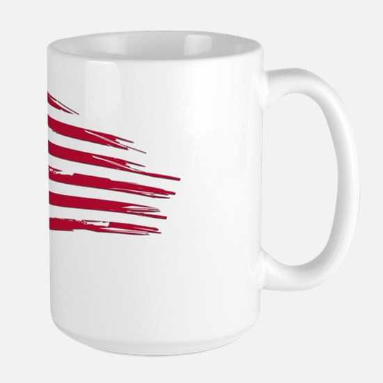 Tattered US Flag Mugs
