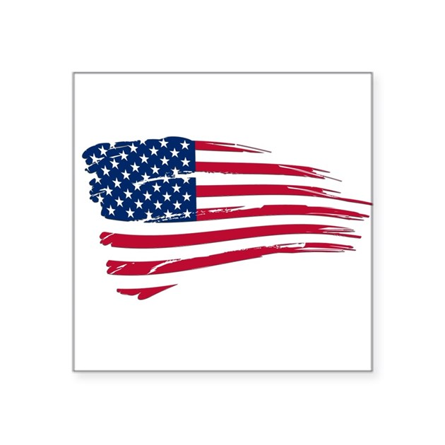 tattered us flag sticker by admin cp11861778 With kitchen colors with white cabinets with american flag car sticker