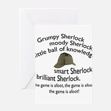 Soft Sherlock Song Greeting Cards