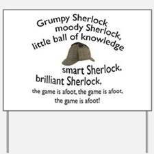 Soft Sherlock Song Yard Sign