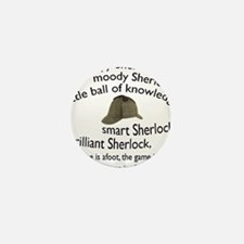 Soft Sherlock Song Mini Button
