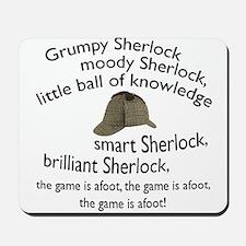 Soft Sherlock Song Mousepad
