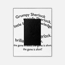 Soft Sherlock Song Picture Frame