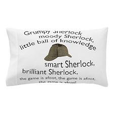Soft Sherlock Song Pillow Case