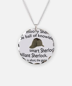 Soft Sherlock Song Necklace