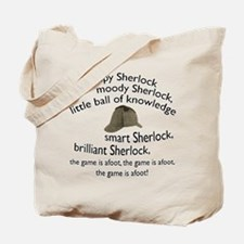 Soft Sherlock Song Tote Bag