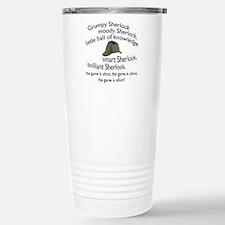 Soft Sherlock Song Travel Mug