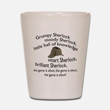 Soft Sherlock Song Shot Glass