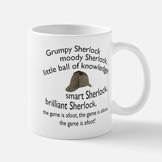 Soft Sherlock Song Mugs