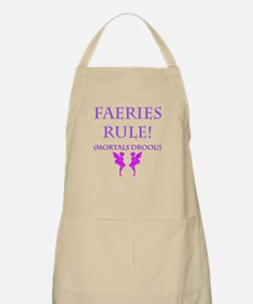 Faeries Rule Apron