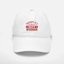 Property of a Hot Nurse Baseball Baseball Cap