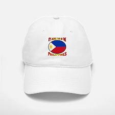 It's More Fun In The Philippines Baseball Baseball Cap