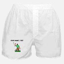Custom Angry Golfer Boxer Shorts