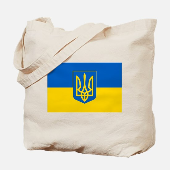Ukrainian Flag Tote Bag