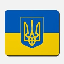 Ukrainian Flag Mousepad