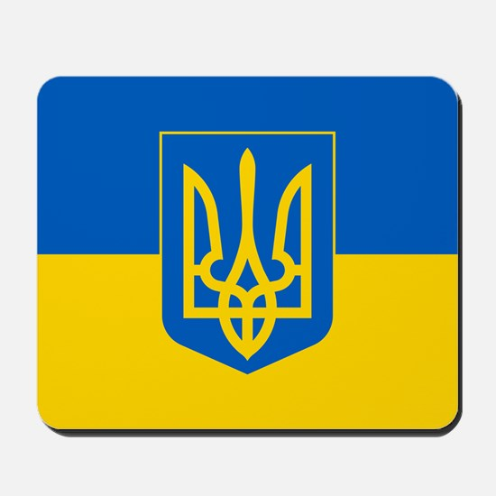 Ukrainian Flag Mousepad