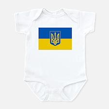 Ukrainian Flag Infant Bodysuit