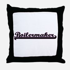 Boilermaker Classic Job Design Throw Pillow