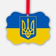 Ukrainian Flag Ornament
