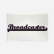 Broadcaster Classic Job Design Magnets