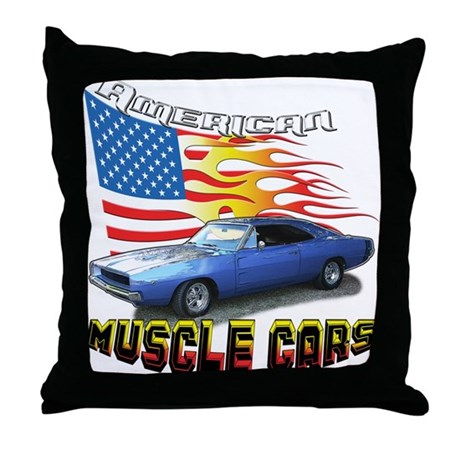 Charger Throw Pillow