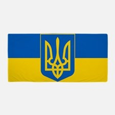 Ukrainian Flag Beach Towel
