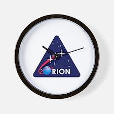 NASA Orion Program Icon Wall Clock