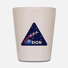 NASA Orion Program Icon Shot Glass
