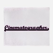 Cinematographer Classic Job Design Throw Blanket