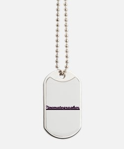 Cinematographer Classic Job Design Dog Tags