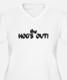 Motorcycle-Hog's out 2 T-Shirt