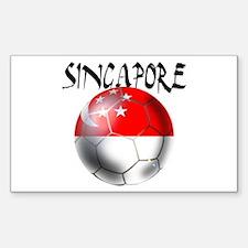 Singapore Football Decal