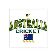 "Cute Cricket Square Sticker 3"" x 3"""