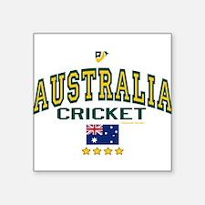 """Cute Cricket Square Sticker 3"""" x 3"""""""