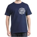 Masonic Firefighter, Past Master Dark T-Shirt