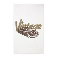 Vintage Car Area Rug