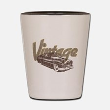 Vintage Car Shot Glass