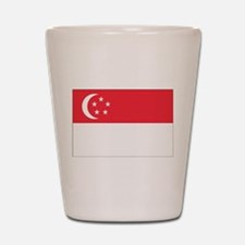 Flag of Singapore Shot Glass
